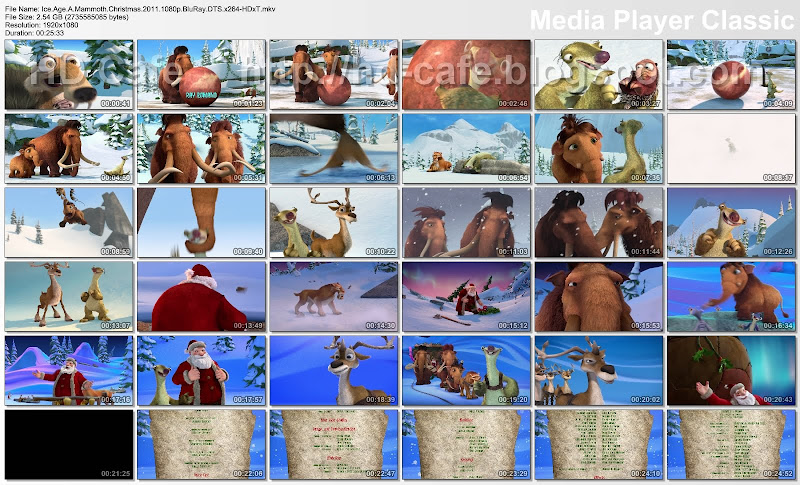 Ice Age - A Mammoth Christmas 2011 video thumbnails