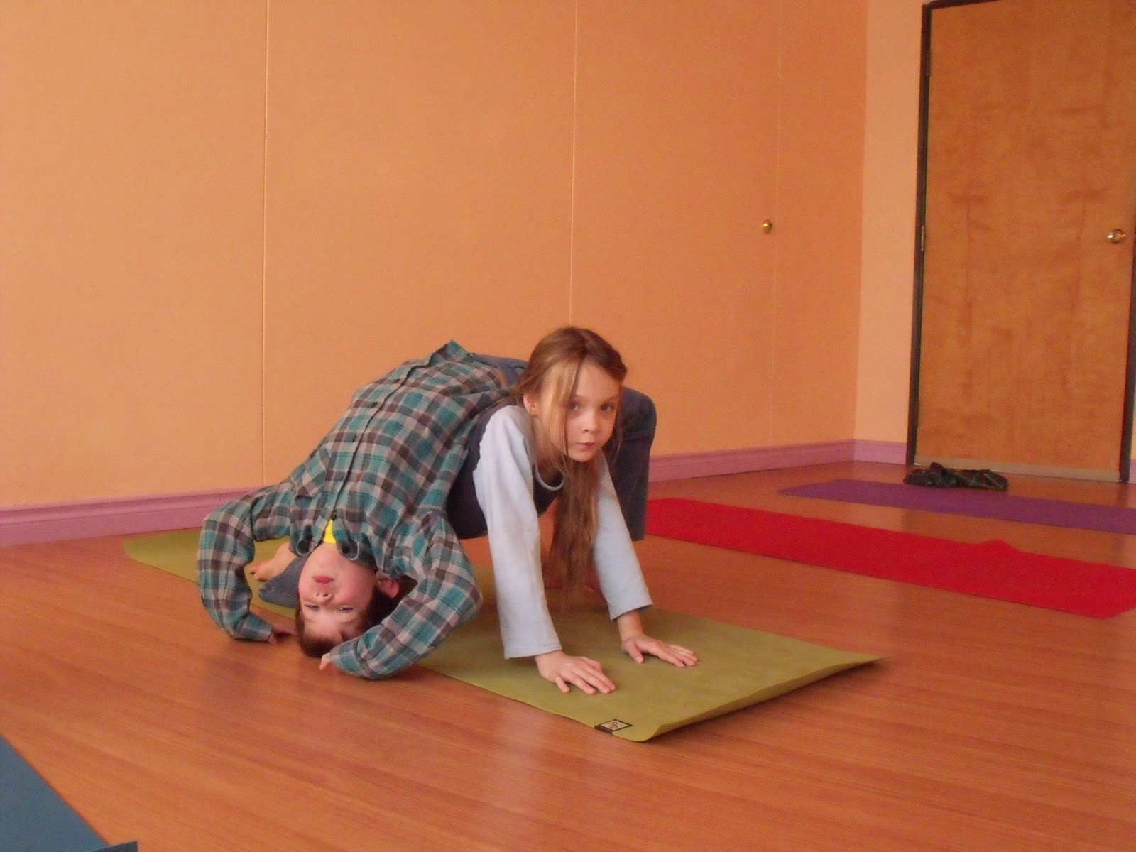 Child Yoga Sunflower Crocodile Swamp Challenge