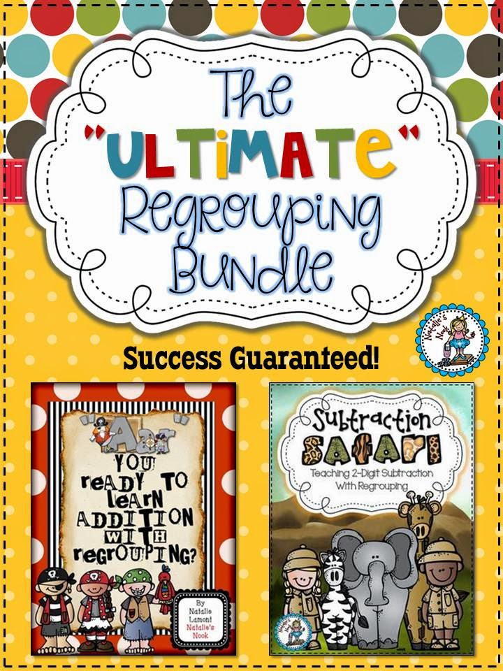 http://www.teacherspayteachers.com/Product/The-Ultimate-Regrouping-Bundle-Teaching-Adding-and-Subtracting-with-Regrouping-1341635
