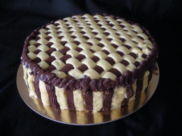 La cucina di afabica torta decorata a canestro for Decorazione a canestro