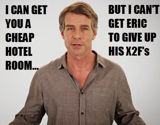 Not the Trivago Guy again!