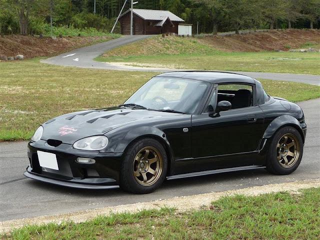 Suzuki Cappuccino, kei car, mały samochód, japoński, JDM, mały silnik