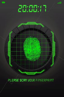 Finger Print Security Scanner Android lockscreen