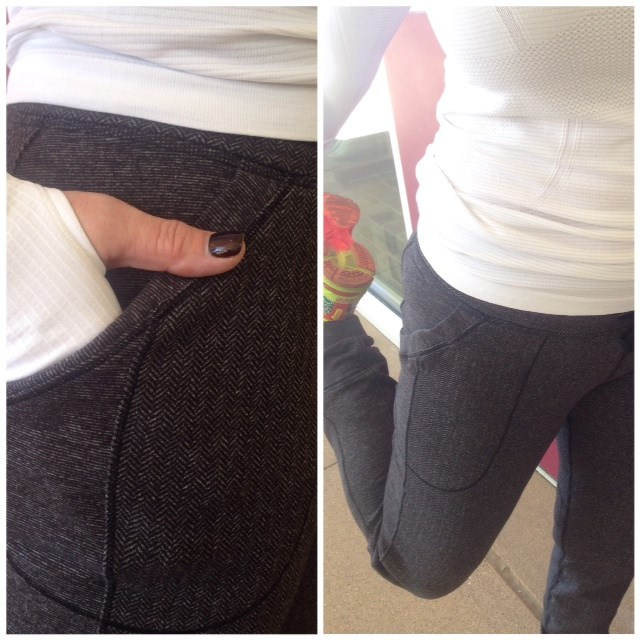 lululemon base runner herringbone pant