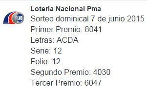 sorteo-dominical-7-de-junio-2015-loteria-nacional-de-panama-progreso