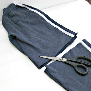 Joggers upcycling tutorial