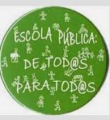 Escola pública para todos.