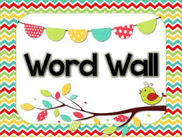 picture about Word Wall Printable titled Mommys Minor College students: Phrase Wall - however not upon a wall?