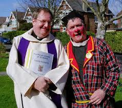 Comedy vicar