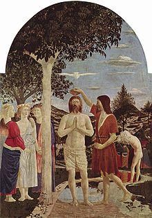 Bautismo de Cristo, pintura de Piero Della Francesca | Ximinia
