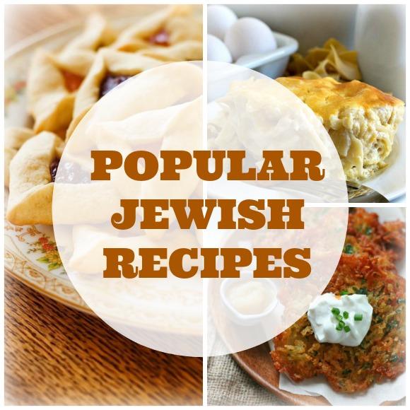 popular jewish recipes
