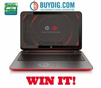 HP Special Edition Laptop Giveaway