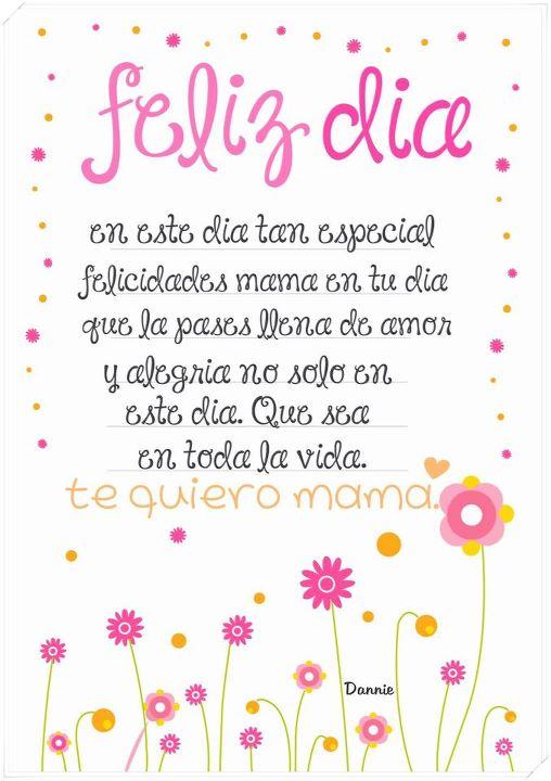 Feliz DIA De La Madre Frases