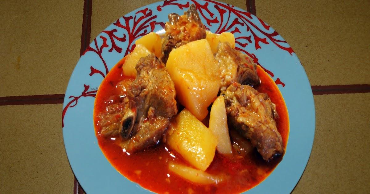 Estofado de costilla con patatas el baul de gori - Patatas con costillas de cerdo ...