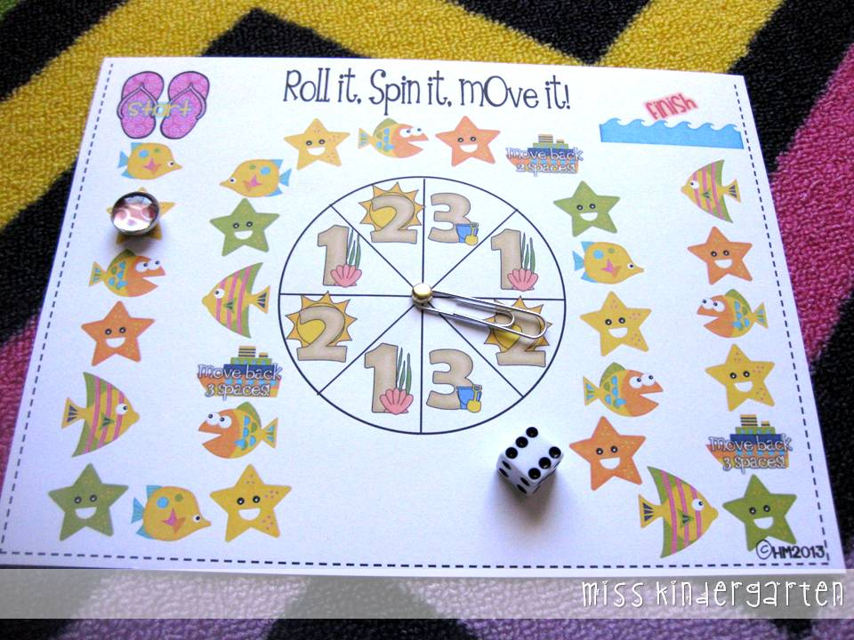 Common Core Math Games! - Miss Kindergarten