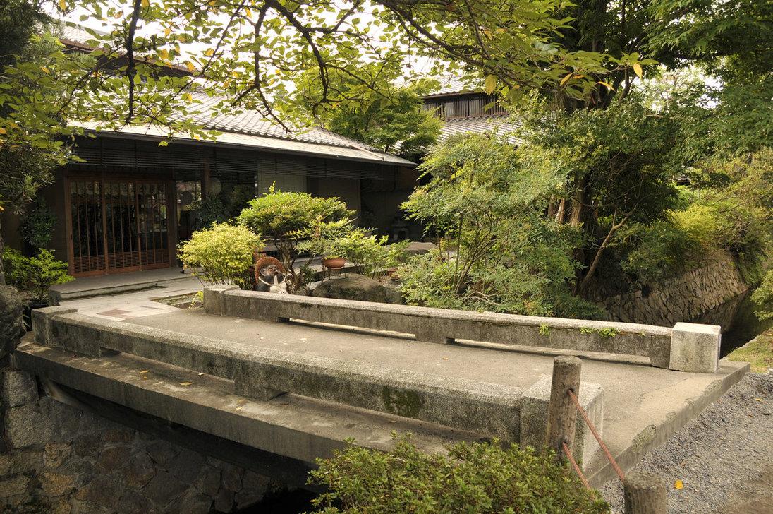 Japanese zen garden japanese garden path bridge for Zen garden bridge
