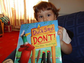 Big Boy and the Duck Says Don't! book