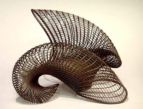 Basketry In Art : Contemporary basketry materials bamboo