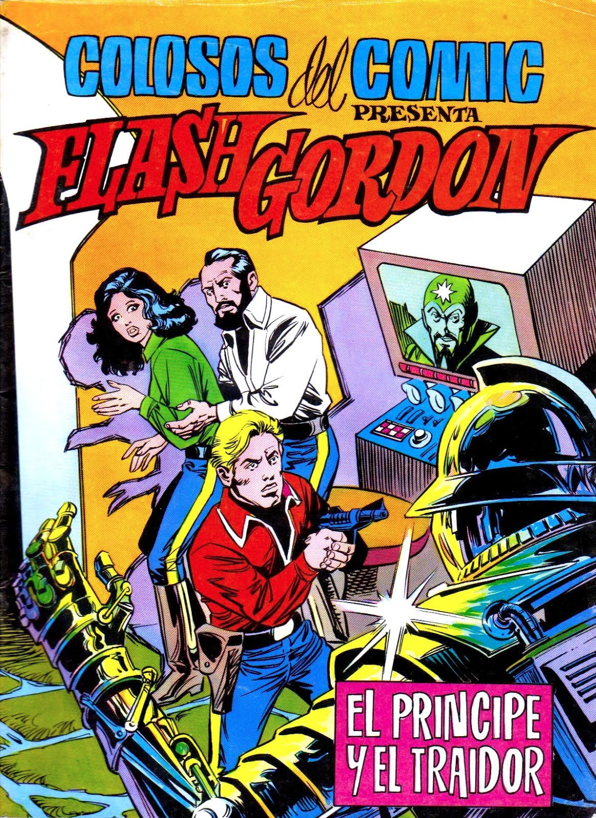 FLASH GORDON (COLOSOS DEL COMIC) 01-10  Ed. VALENCIANA  -  Arreglos de JMG