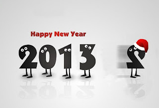 Happy New Year 2013 cartoon wallpaper