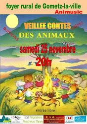 VEILLEE CONTES A GOMETZ LA VILLE LE 25 NOVEMBRE