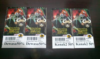 Tips membeli Tiket Zoo pada harga diskaun sebanyak 50%
