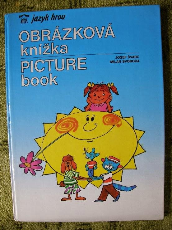 obrázková knížka, jazyk hrou angličtina