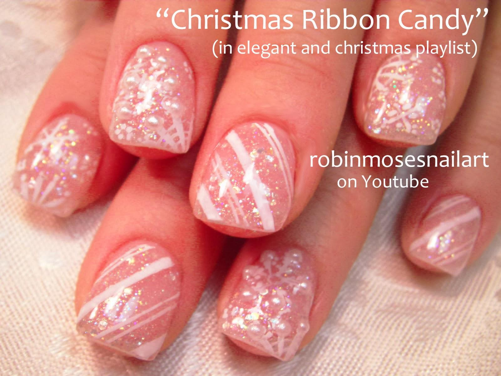 Robin moses nail art christmas nails christmas nail art cute christmas nail art mittens prinsesfo Images