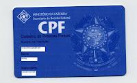 Novo serviço da Receita permite tirar CPF gratuitamente via Internet.