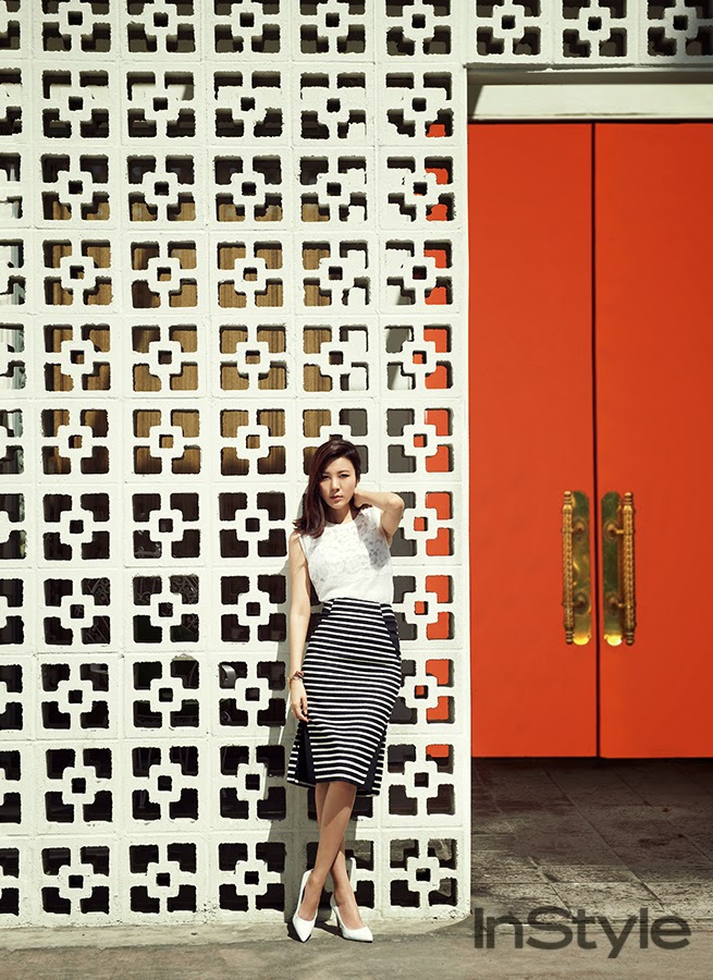 Kim Ha Neul - InStyle May 2014