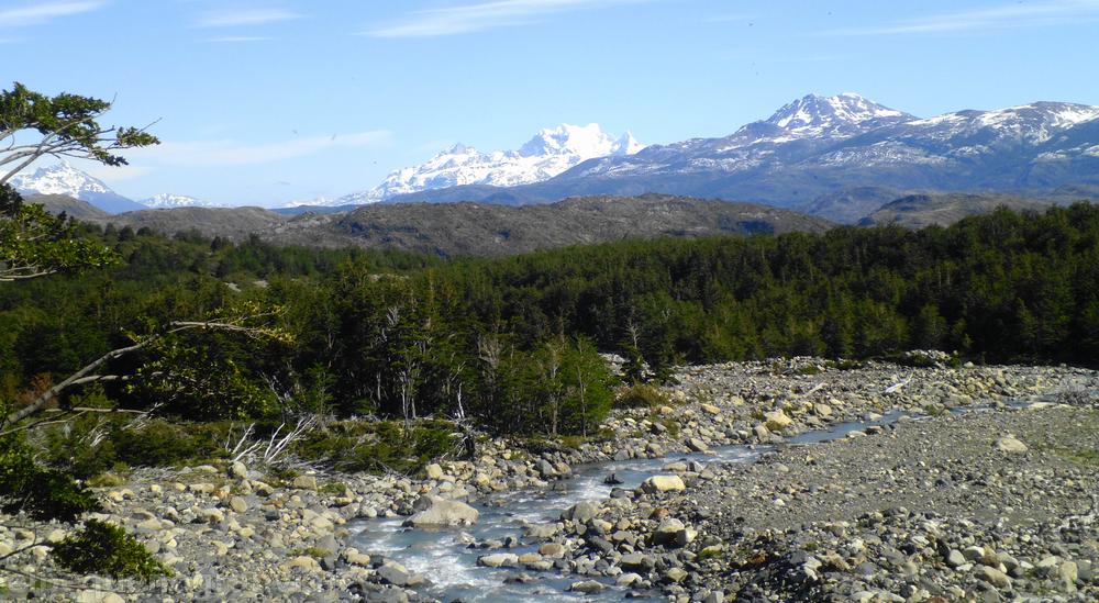 Río del Francés, Torres del Paine