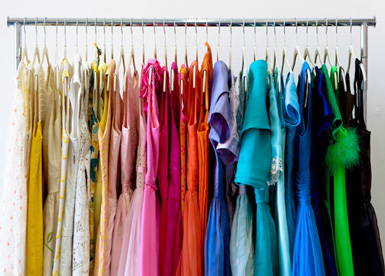 Belle maison get organized the dreaded closet for How to color organize your closet