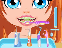 العاب تنظيف الاسنان