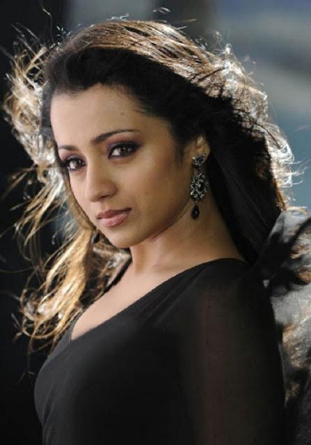 trisha krishnan saree pics