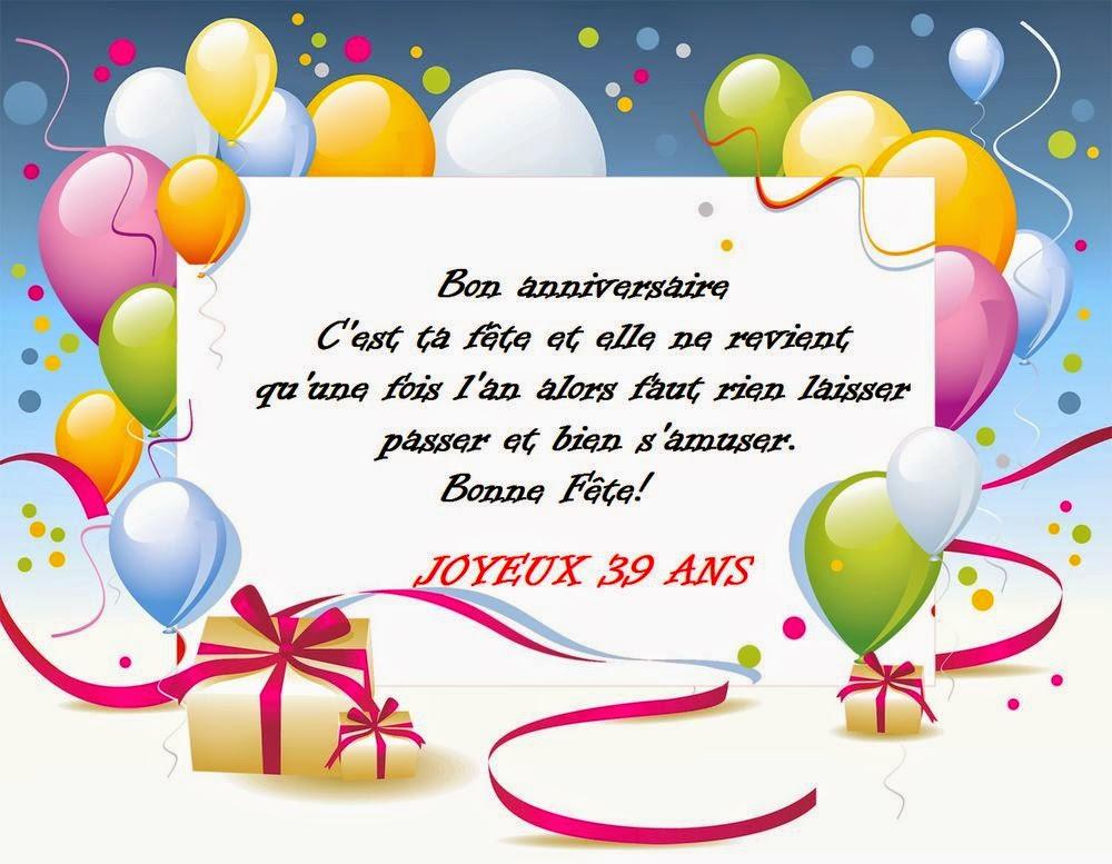 Citations pour un anniversaire