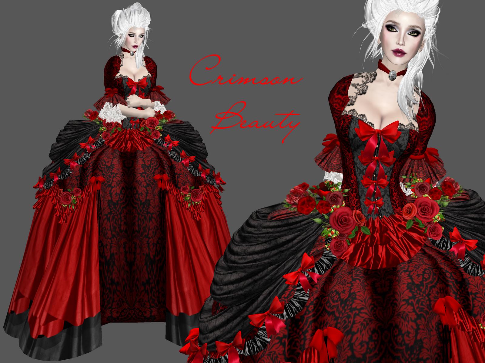 Baroque Gowns In Boudoir