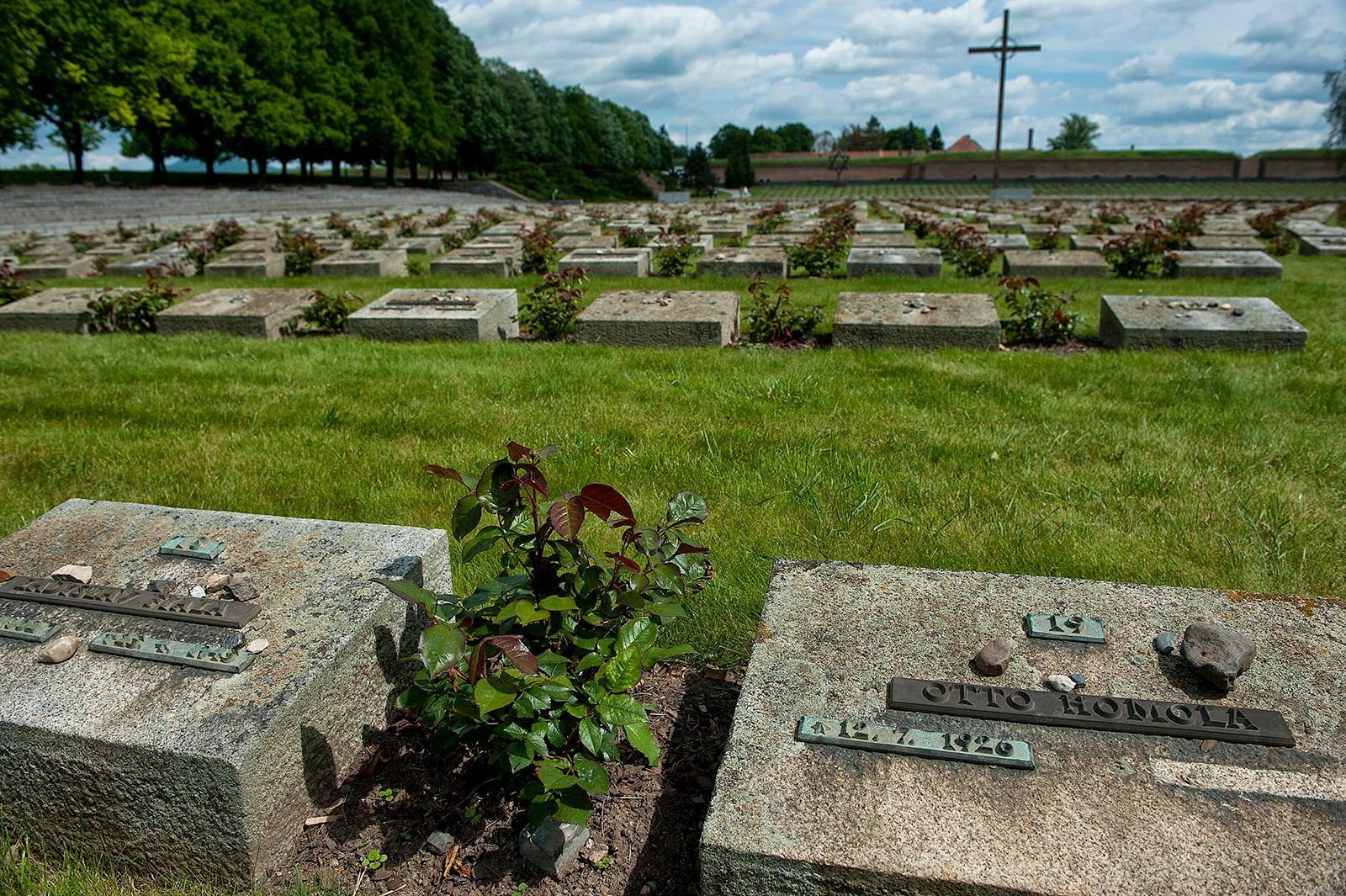 Terezin, Czech Republic, cemetery
