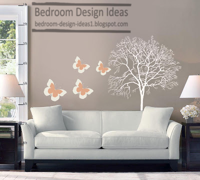 Cheap Bedroom Design Ideas Change Your Bedroom Decor By Wall Stickers