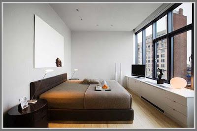 Narrow Bedroom Design