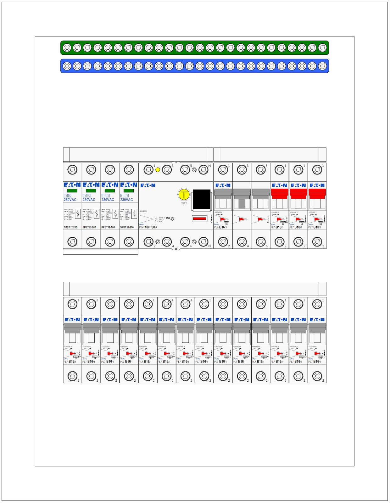 Kresleni Elektrotechnickych Schemat Vykres Rozvadece