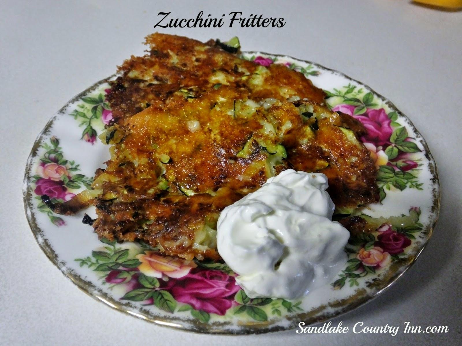 Sandlake Country Inn Zucchini Fritters