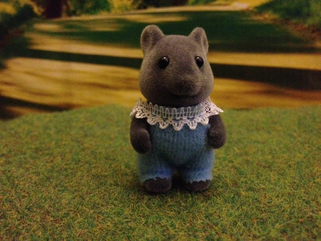 Sylvanian Families Thistlethorn Mouse Baby boy Barry