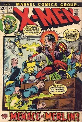 X-Men #78, Merlin