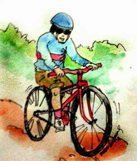 bersepeda santai saat puasa