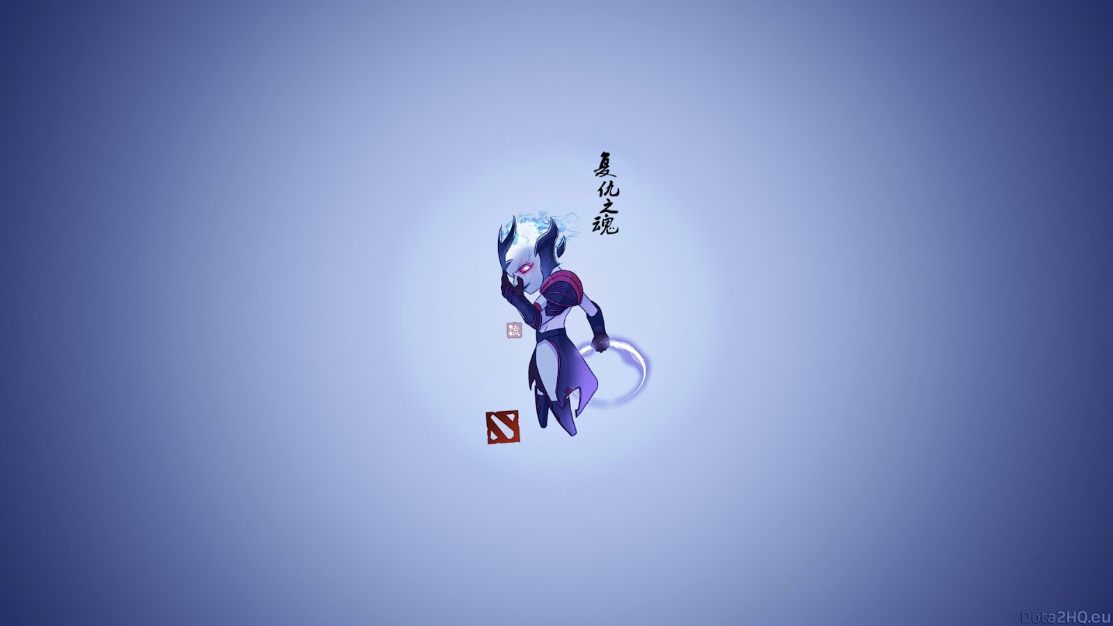 DotA 2 Minimalist Wallpaper full HD for Desktop