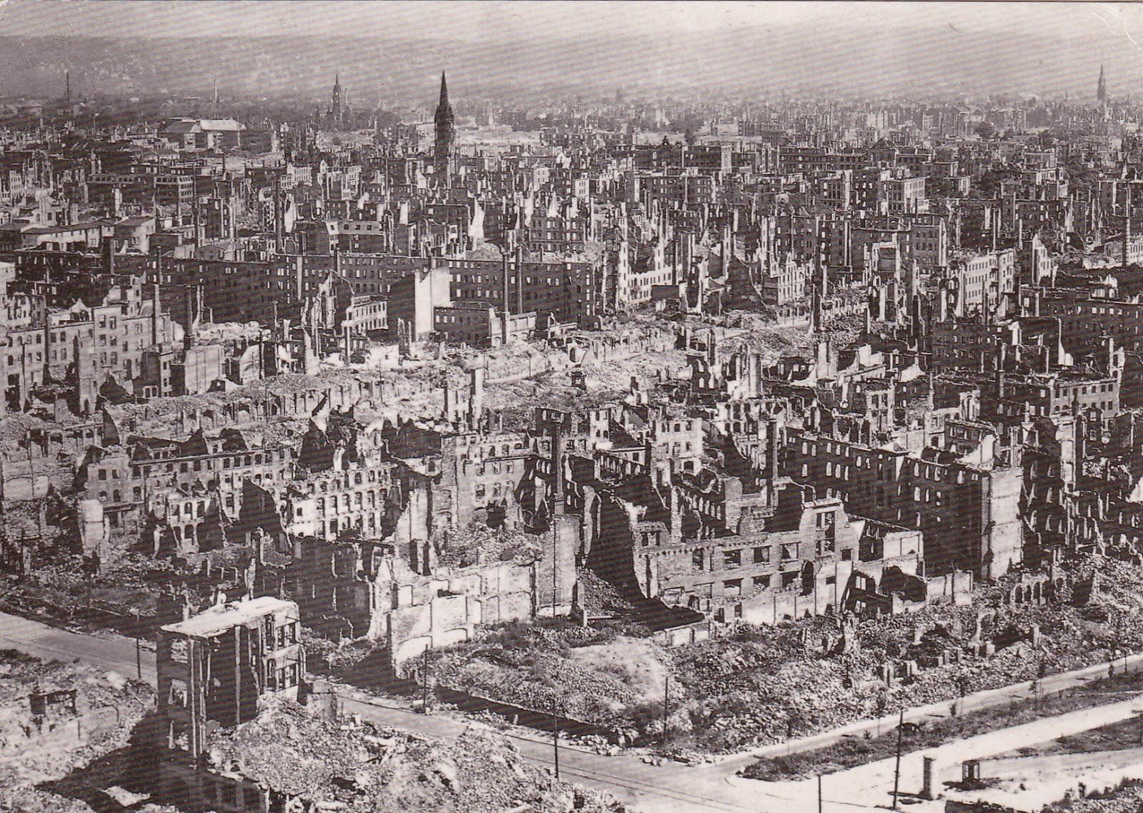 Bombardeo de Dresde 1945