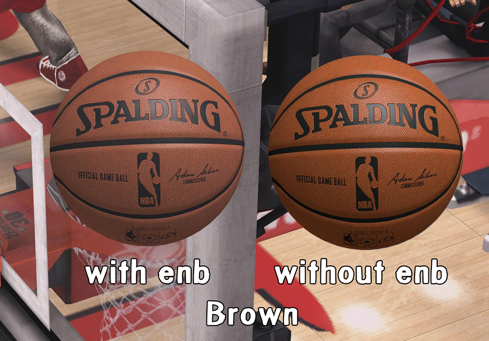 HD Spalding Ball Mod - Brown