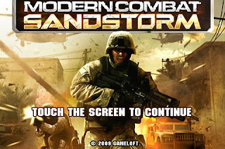 Modern Combat Sandstorm Android Armv6 hd hvga game