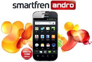 Smartfren Andro, Android CDMA EVDO Rev.A RUIM