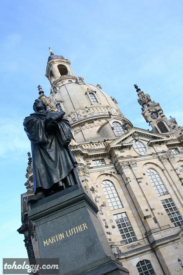 The Frauenkirche Dresden / церковь Фрауэнкирхе Дрезден